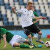 Stephen Best in action for the Ireland Under-17s against Germany in Belgrade last March