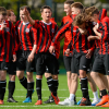 Bohemians Under-18s celebrate FAI Youth Cup final victory - Sportsfile