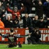 Jason Byrne celebrates - By Eddie Lennon