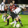 Stephen Best in action against Dundalk earlier this month - Pic by Eddie Lennon