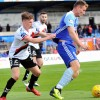 Andy Lyons in action against Peterhead - courtesy of Peterhead FC