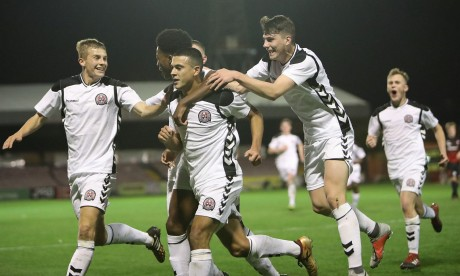 Ali Reghba gave Bohs the lead from the spot at Dalymount last Wednesday - Stephen Burke