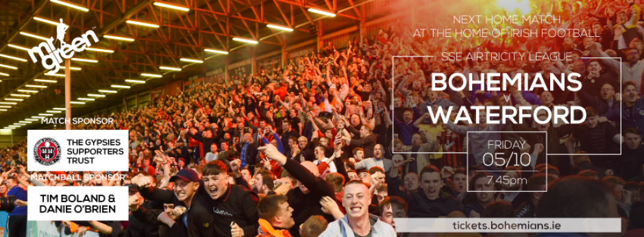 Bohemians v Waterford