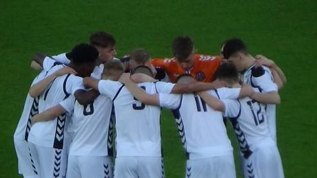 Bohs huddle in Denmark - Johnny Bohan