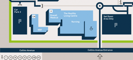 Nursing building DCU