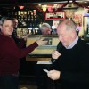 Keith Long and Paul Duffy at Saturday's draw