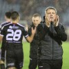 Keith Long salutes Bohs fans in Waterford - A Baldiemann