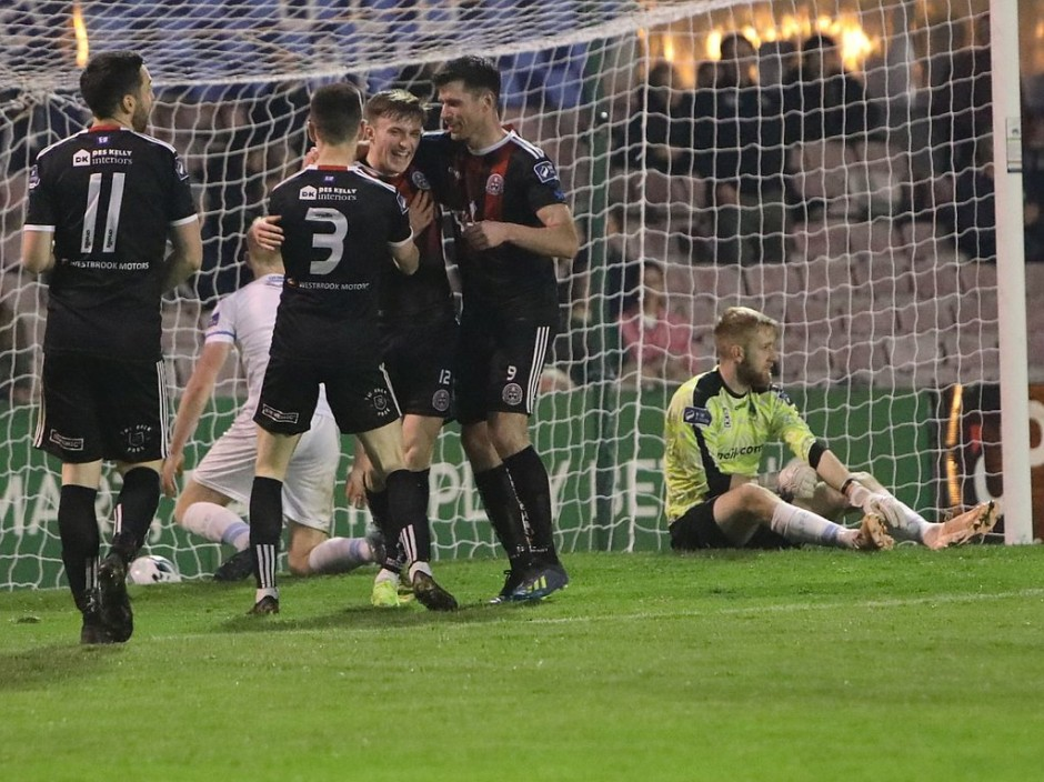 Danny Grant netted Bohs' third on Friday - Stephen Burke