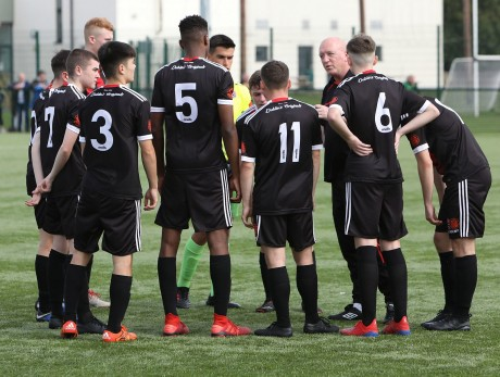 Jimmy Mowlds addresses Bohs-SKB U17s