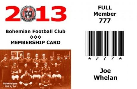 2013 Membership card for website