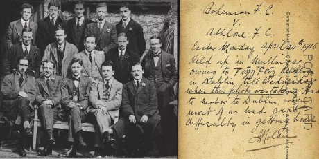 Bohemians in Easter 1916