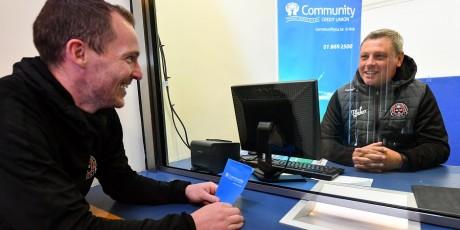 Bohemian FC/Community Credit Union partnership launch