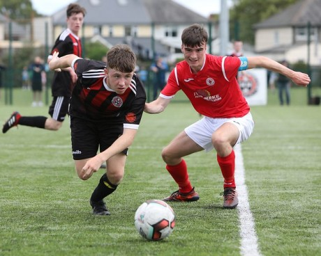 Bohs-SKB U17s in acion against Sligo at St Aidan's - Stephen Burke