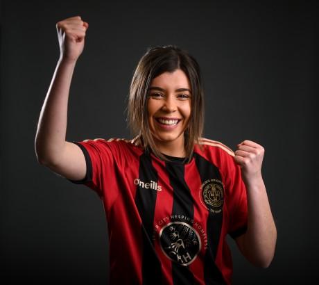 Bohemian FC Women's Squad Portraits 2021