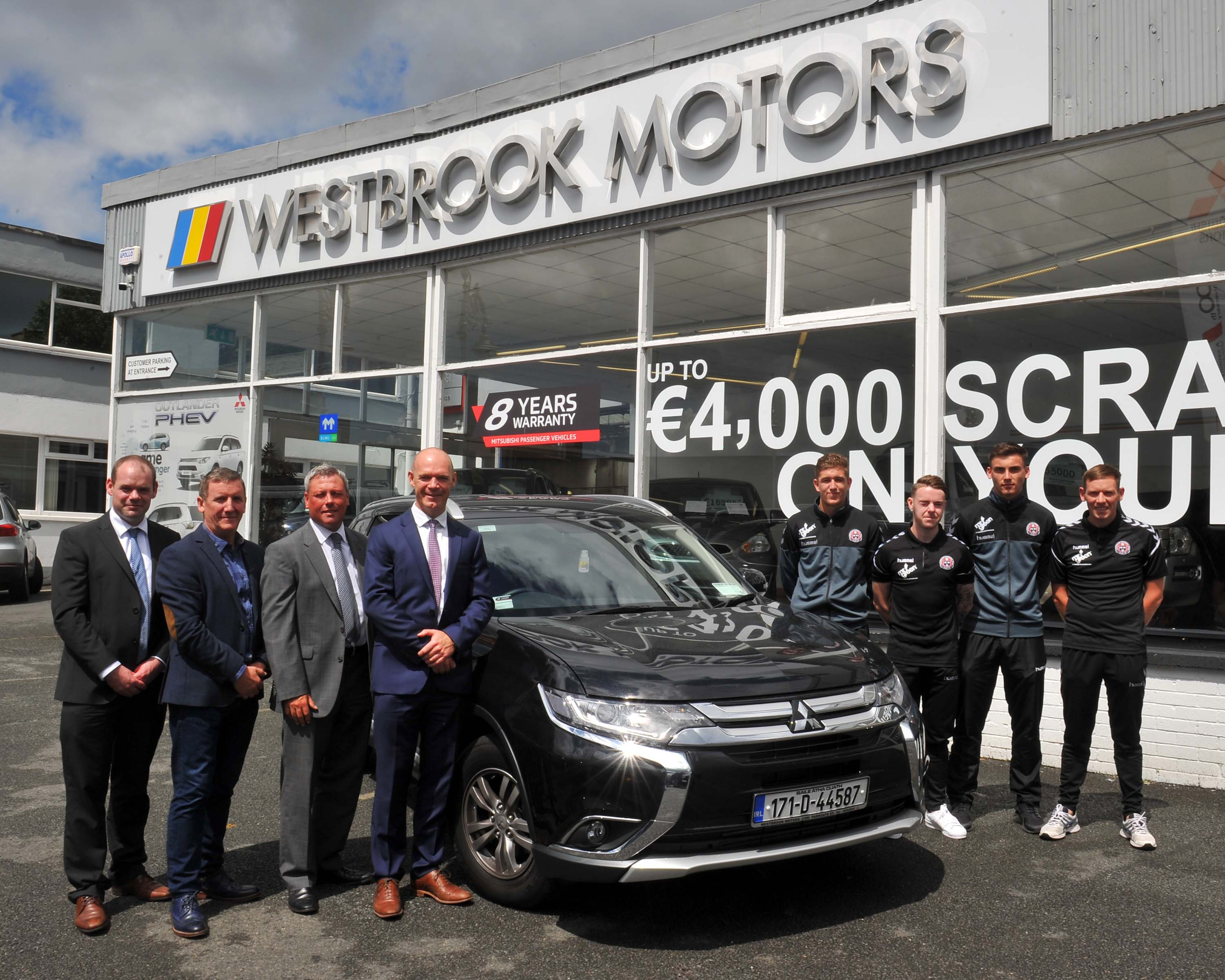 Westbrook Motors, the main Mitsubishi Dealer in Dublin City, has been officially unveiled as the new vehicle sponsor of Bohemian FC after penning an ...