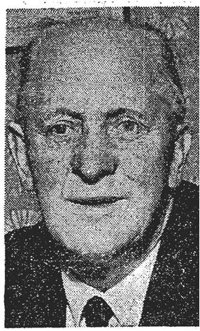 Joe Wickham from newspaper cutting