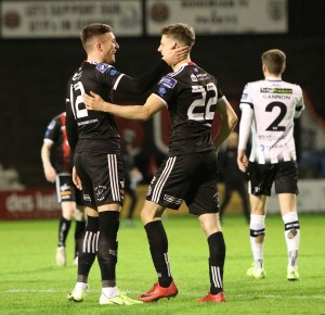 Danny Grant and Paddy Kirk celebrate - Stephen Burke