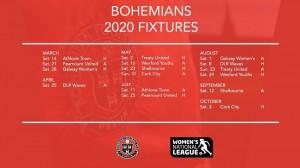 Bohs WNL fixtures